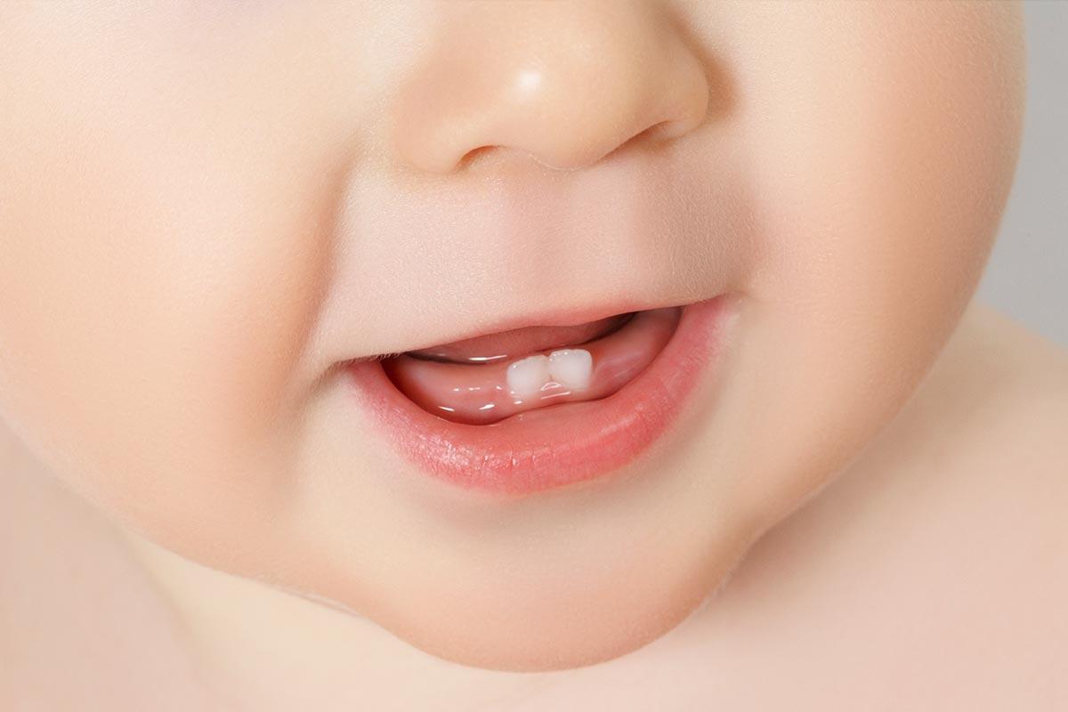 El cuidado dental de los bebés